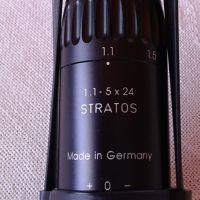 Продавам оптика Schmidt&Bender Stratos 1,1-5х24 FD0